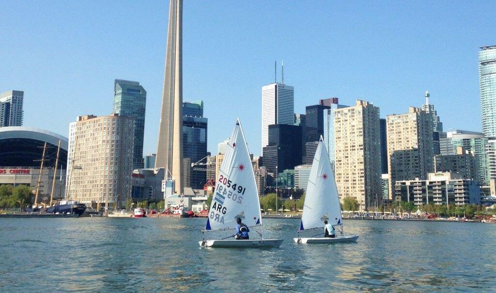 Laser Regata en Toronto