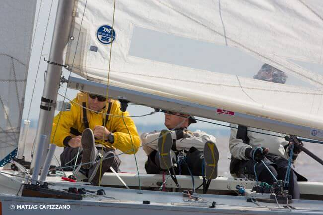 Soling en regata