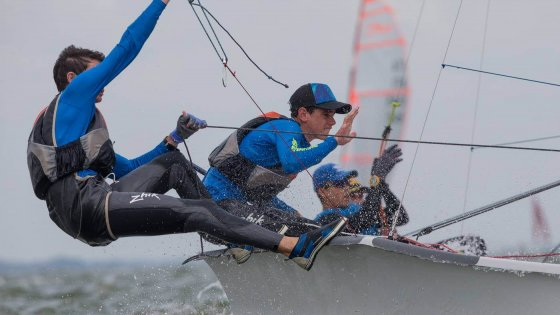 2016 29er Class World Championships Duncan y Dalli