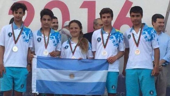 Argentina 2º en Mundial de Optimist en Portugal