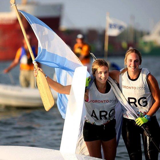 Equipo Olímpico 49erFX Victoria Travascio y Sol Branz