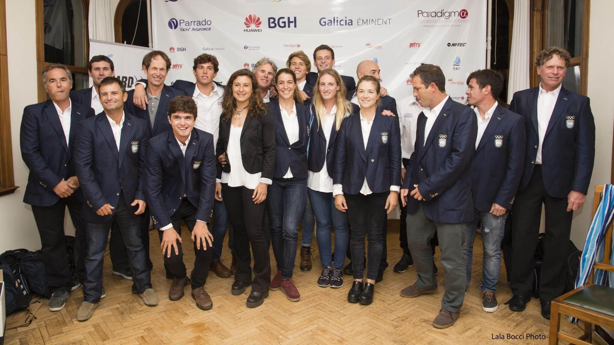 Evento Bienvenida Equipo Argentino en el YCA