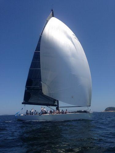El Fortuna fue el primer barco en finalizar la XXV Regata Oceánica Buenos Aires-Río de Janeiro