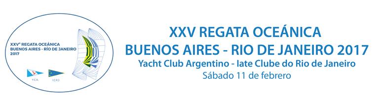 XXVº Edición de la Regata Oceánica Buenos Aires - Río de Janeiro 2017