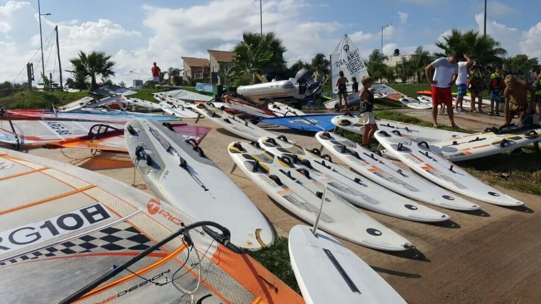 Clínica de Windsurf en Mar Chiquita - Córdoba