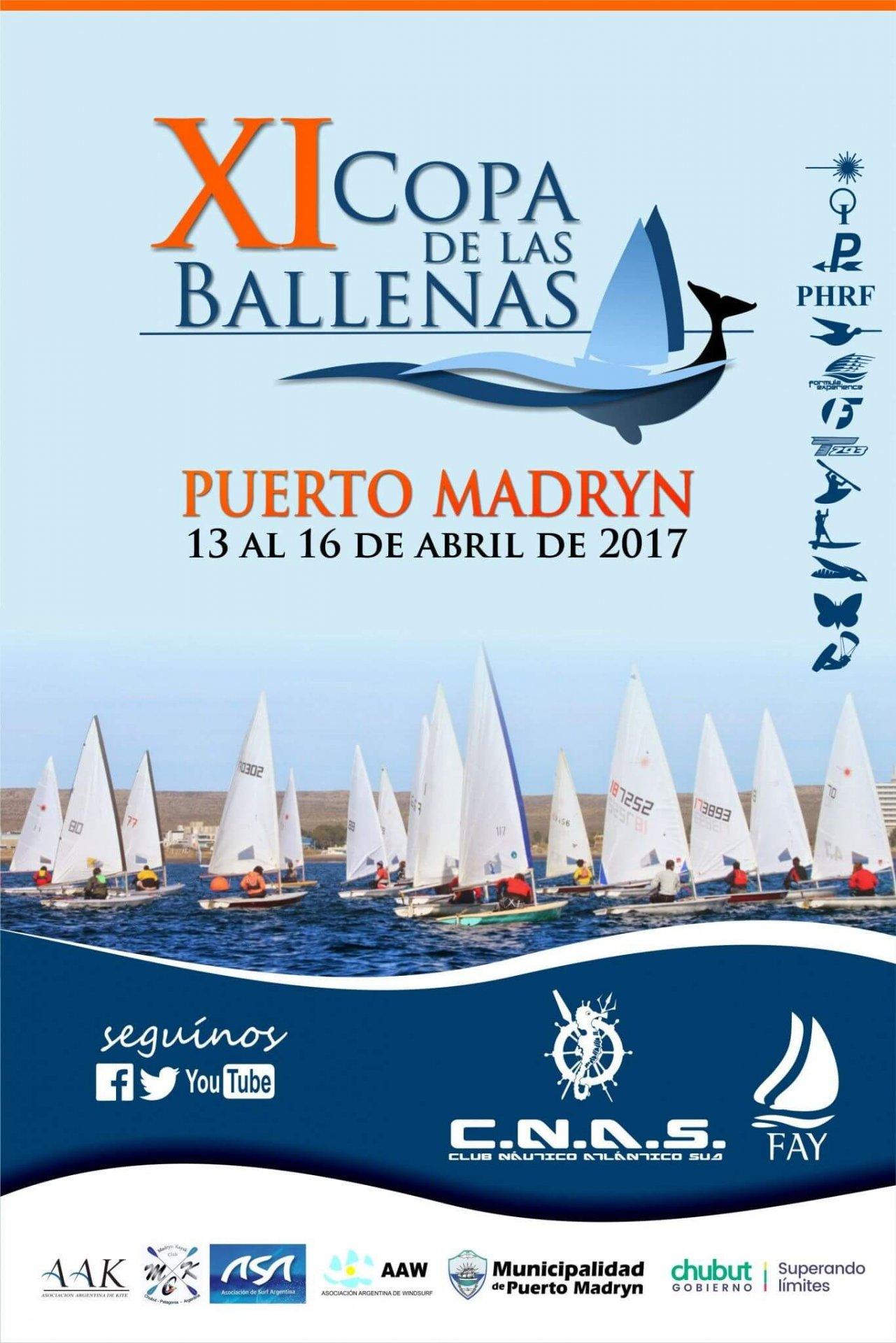 Flyer Copa de las Ballenas