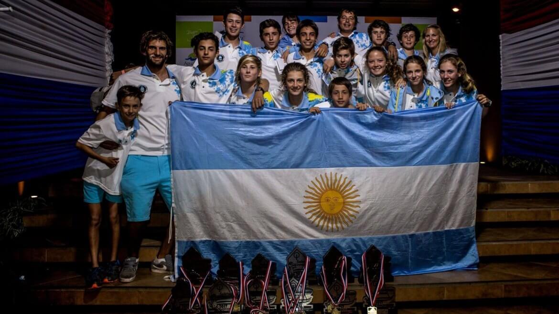Equipo Argentino de Optimist Campeón SudOpti 2017