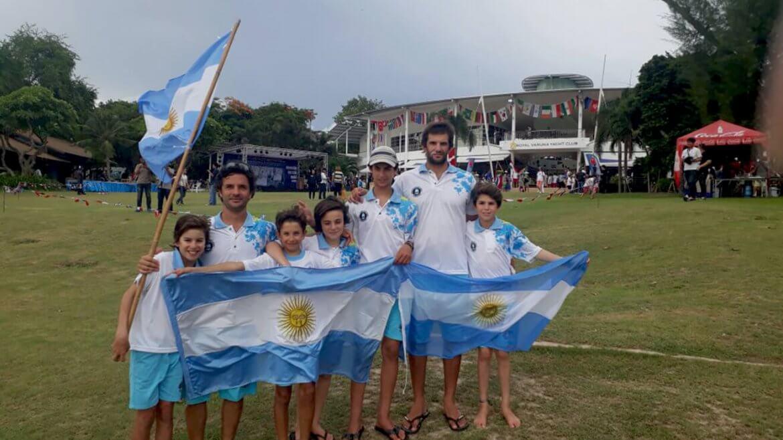 Equipo Argentino en el Mundial de Optimist de Tailandia