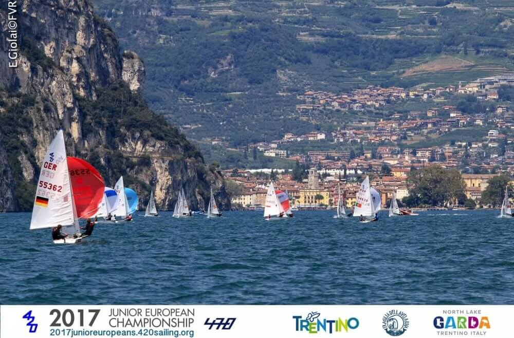 Campeonato Europeo Junior de 420 - Fotografa Elena Giolai