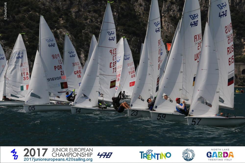 Campeonato Europeo Junior de 420 y 470 - Fotografa Elena Giolai