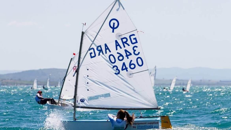 Donna Mazzucchelli - Campeona del Europeo de Optimist