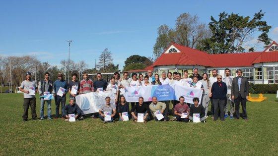 Foto Grupal de los participantes del Curso de la World Sailing