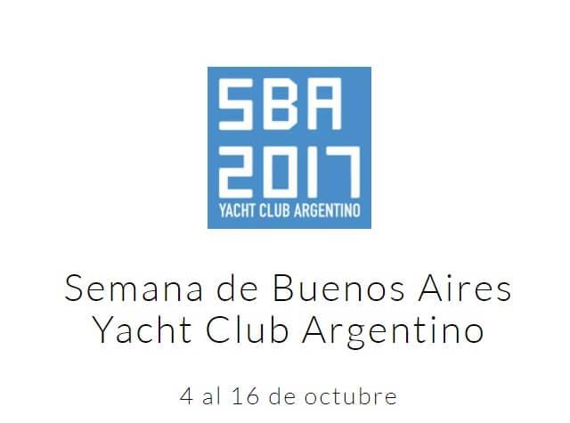 Se viene la Semana de Buenos Aires 2017