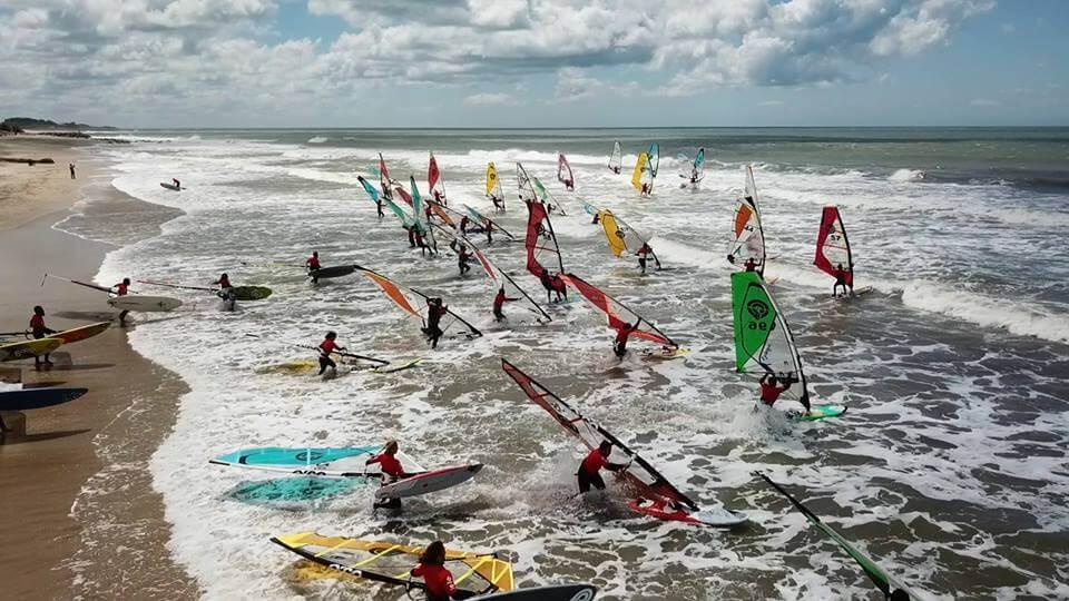 Campeonato de Windsurf Freestyle Wave - Mar del Plata 2017