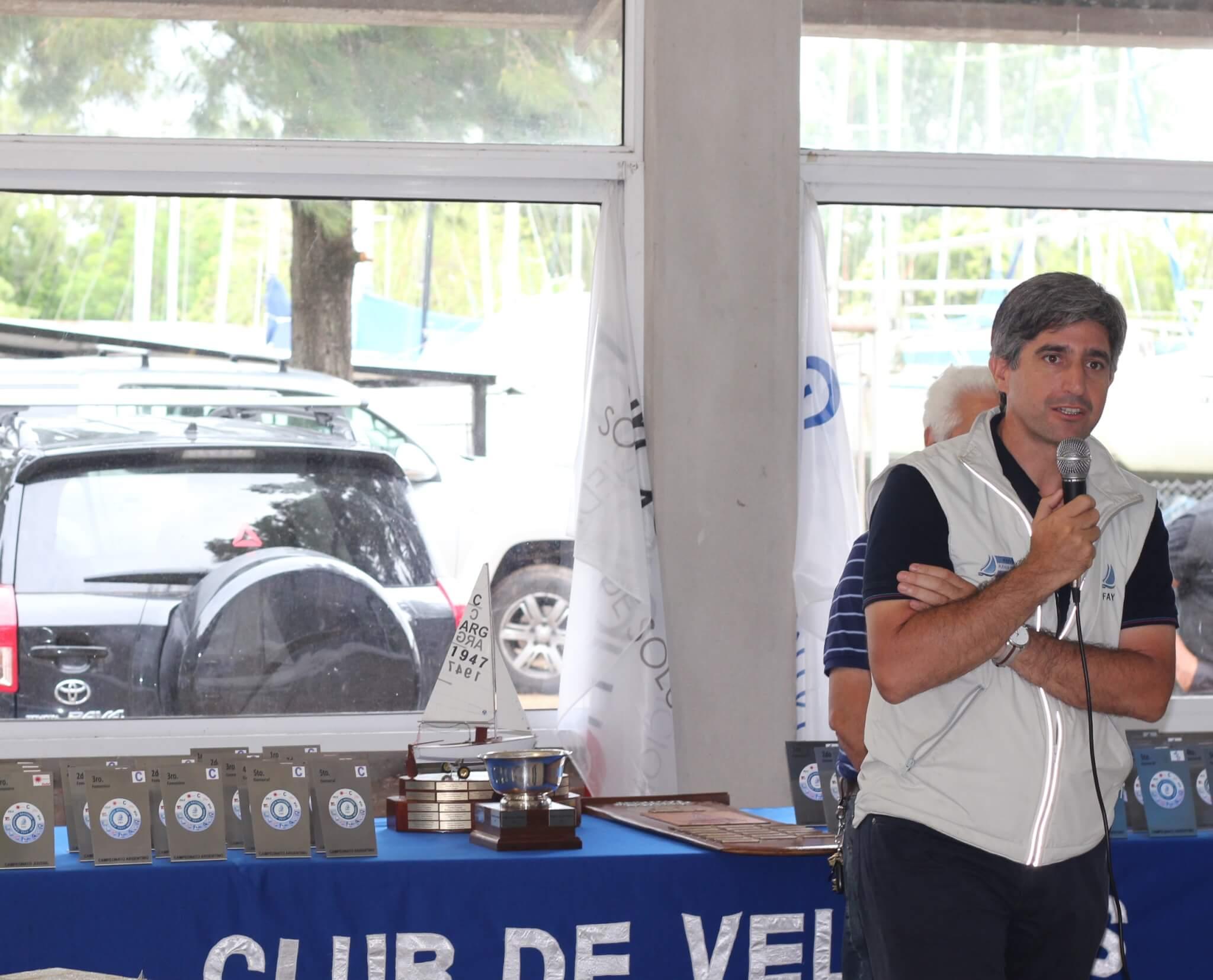 Luis Velasco en el 2º Campeonato Nacional Juvenil