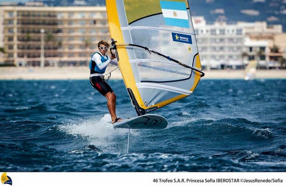 Celia Tejerina y Bautista Saubidet consiguieron las plazas argentinas para Lima 2019 en RS:X