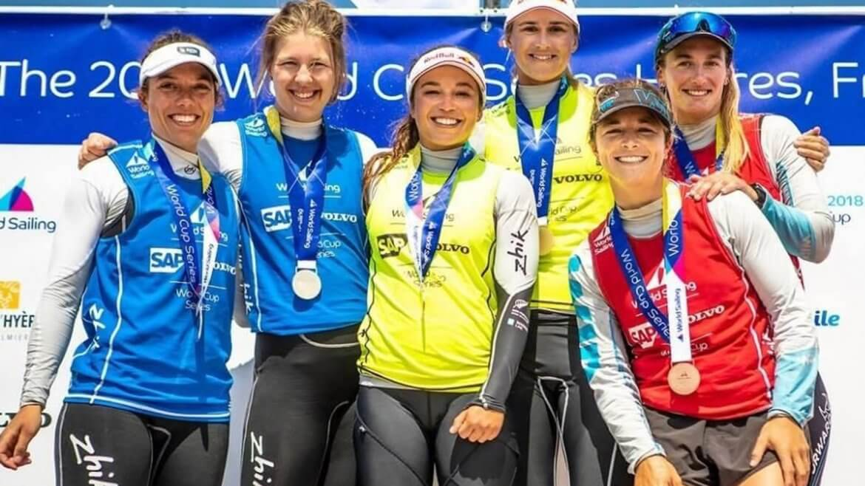Victoria Travascio y Sol Branz lograron la medalla de bronce en Hyères