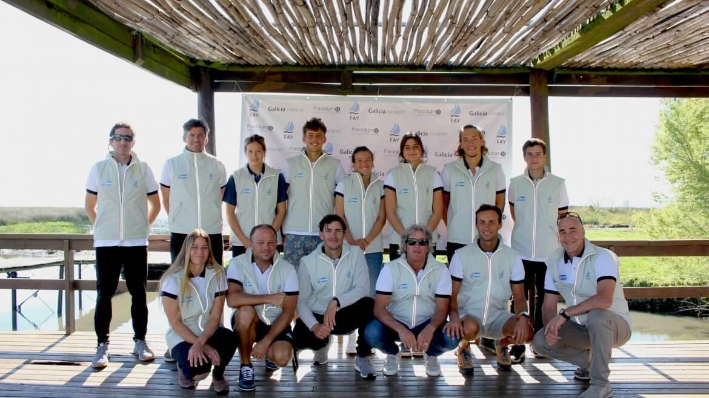 Equipo Completo Juvenil con entrenadores