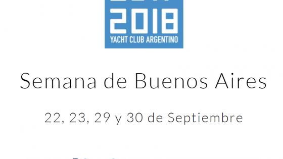 Semana de Buenos Aires 2018 - YCA