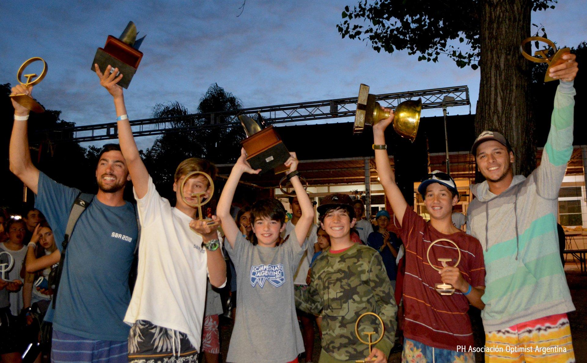 Campeonato Argentino de Optimist 2018 - Por Equipos