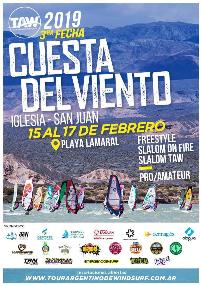 TAW en Cuesta del Viento - San Juan - 2019