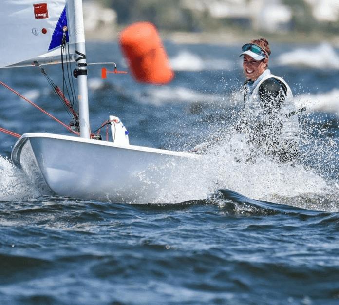 Lucia Falasca campeona de Laser Radial