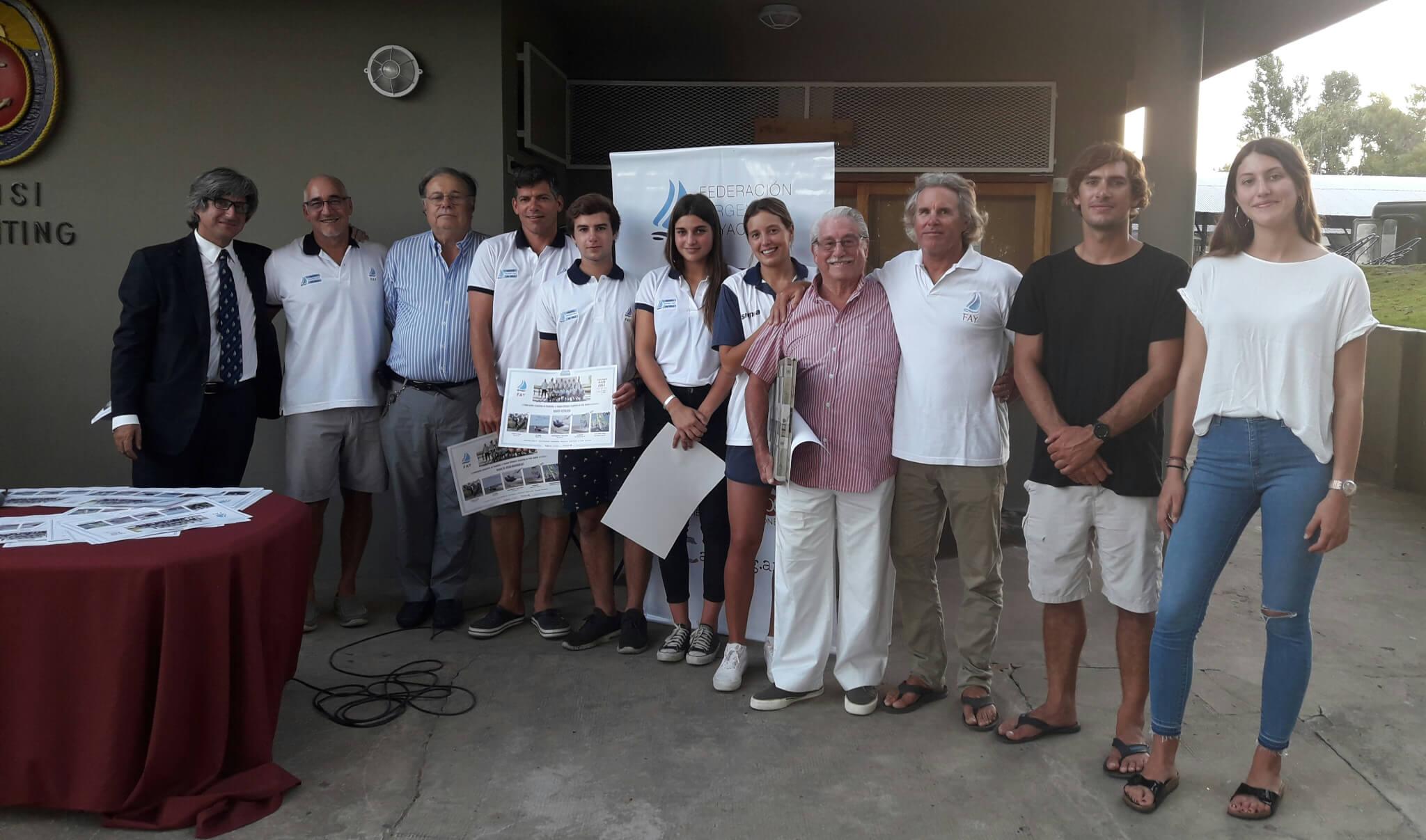 Reconocimiento a Deportistas en el Club Náutico San Isidro
