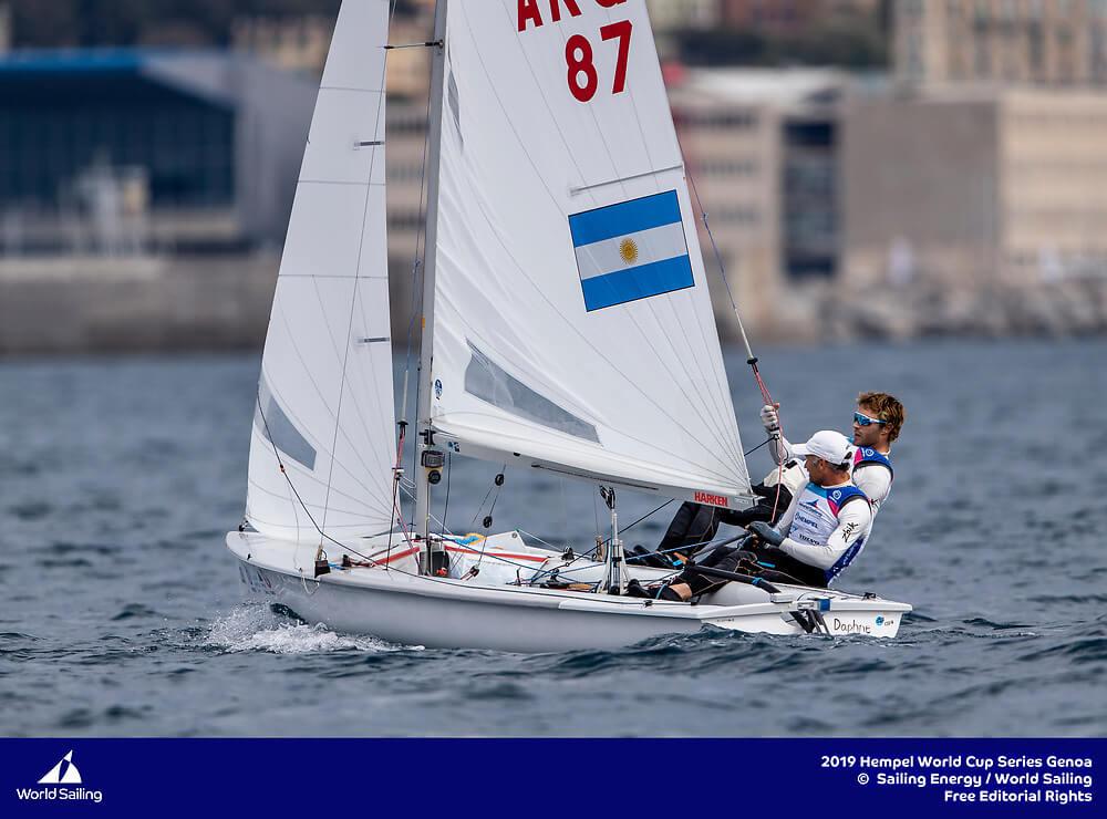 Fernando Gwozdz & Tomas Dietrich - Clase 470 - Hempel -Genoa 2019