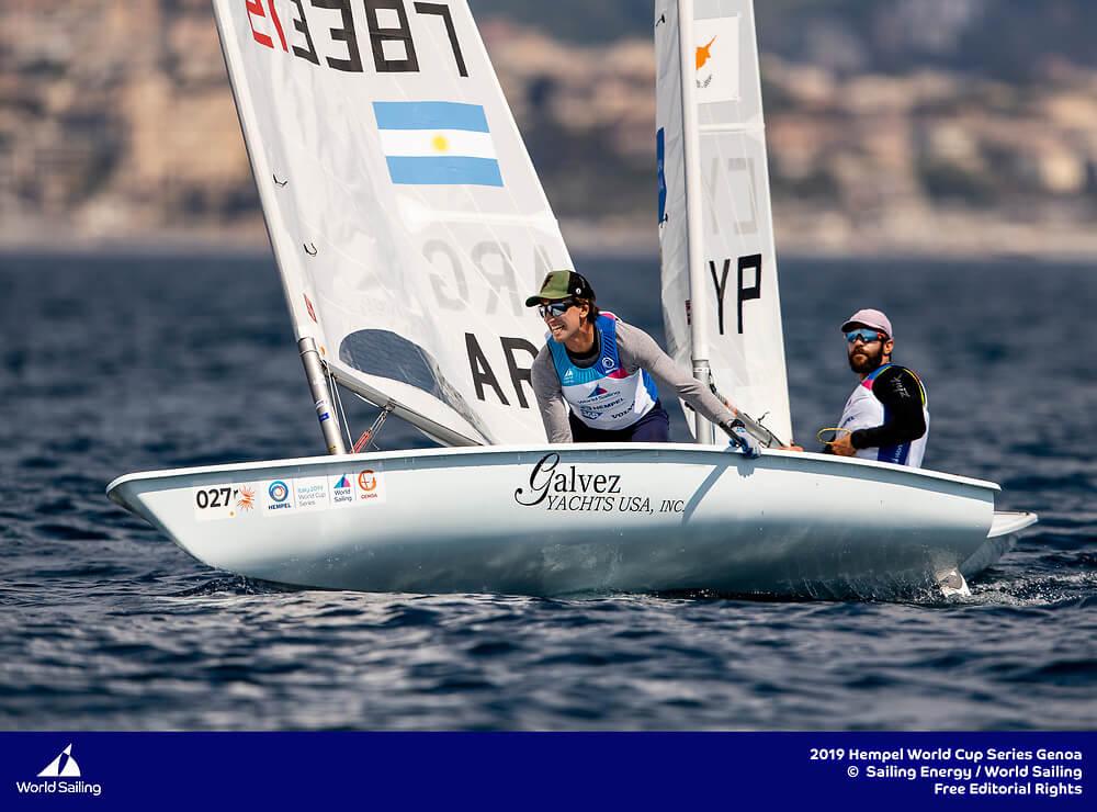 Francisco Guaragna - Laser Argentino - Hempel -Genoa 2019