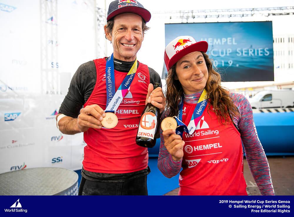 Santi Lange y Ceci Carranza - Medalla de Bronce en Genoa 2019