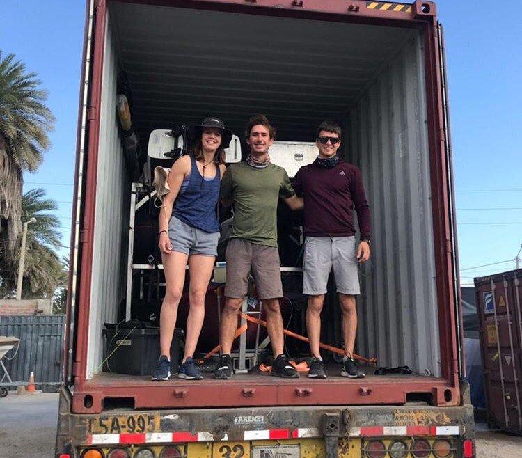 Barcos argentinos llegan a Peru para Lima 2019-2