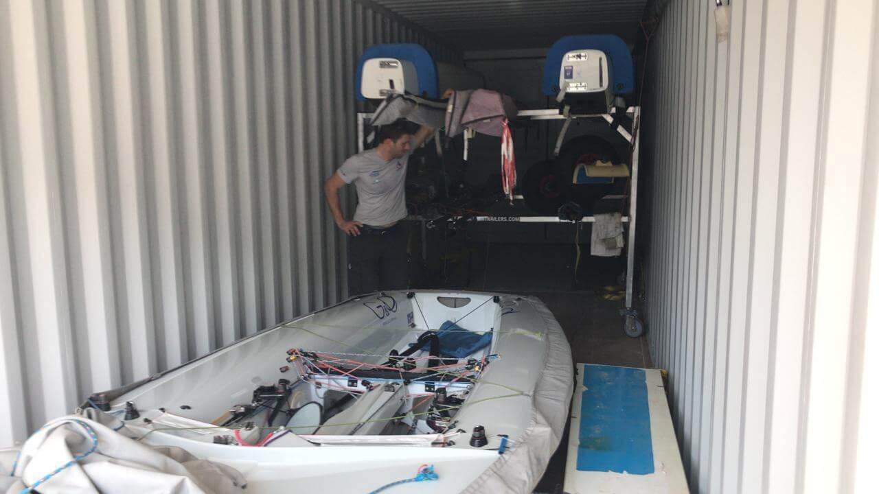 Barcos argentinos llegan a Peru para Lima 2019