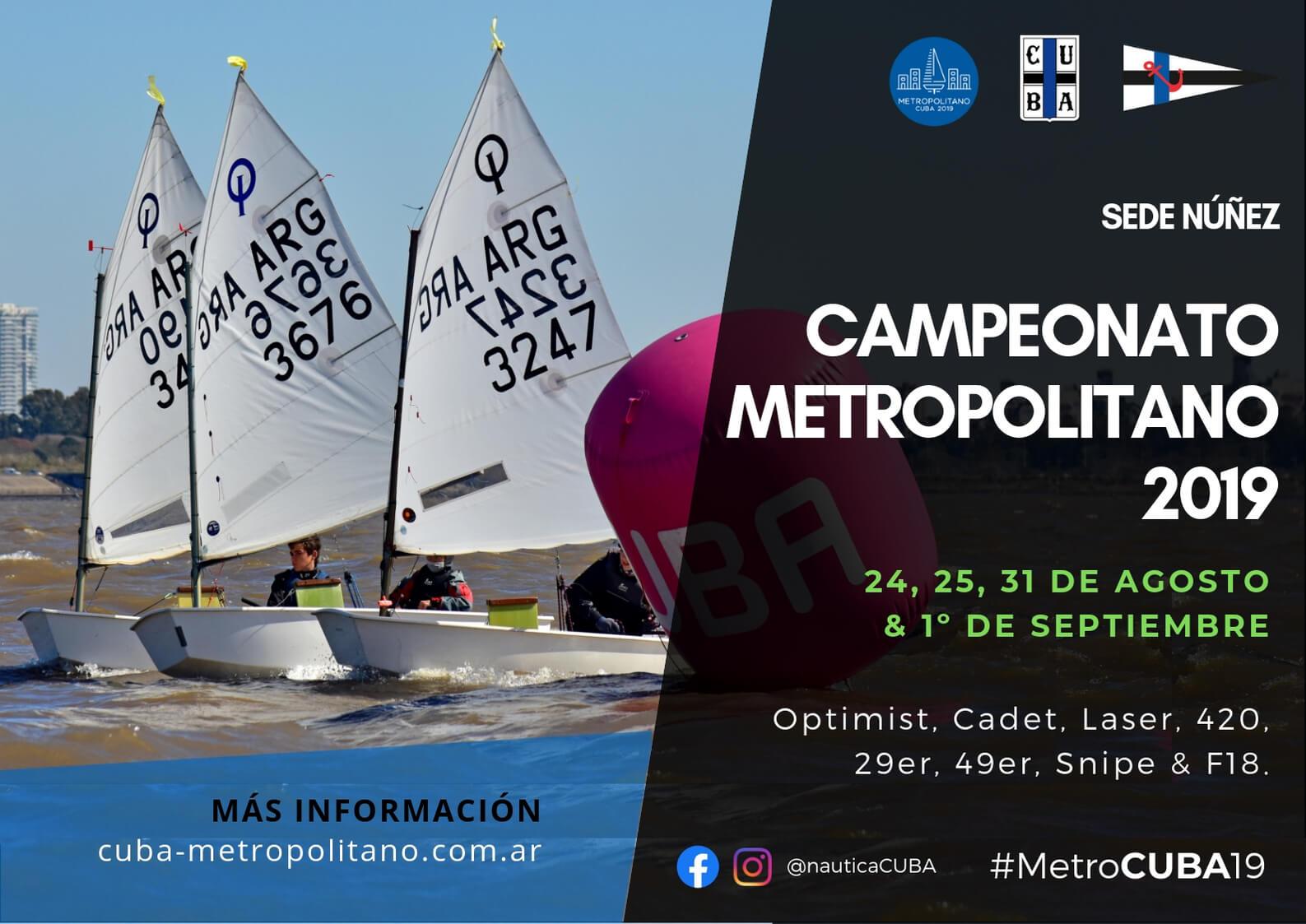 Campeonato Metropolitano 2019 - Afiche
