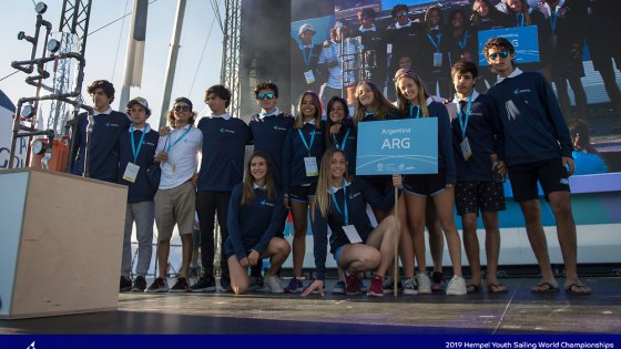 Equipo Argentino Juvenil - Youth Worlds Gdynia 2019