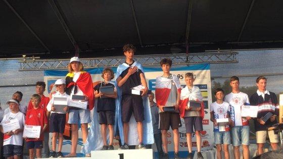 Julian Finsterbush y Franco Barone en el 1er puesto del podio