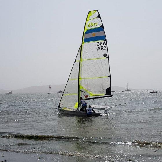Los Lange se preparan para correr su Medal Race - 3