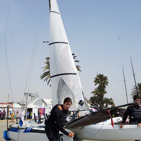 Majdalani y Bosco se preparan para correr su Medal Race en Lima 2019 -4