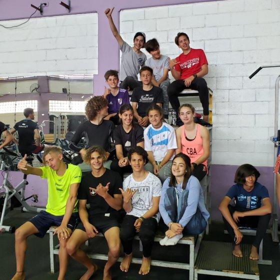 El grupo de entrenamiento