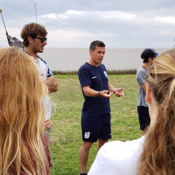Aprendiendo de regatas - JJOO Juventud - Dakar 2022