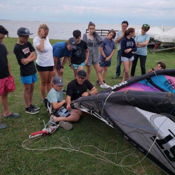 Aprendiendo sobre Kite - JJOO Juventud - Dakar 2022