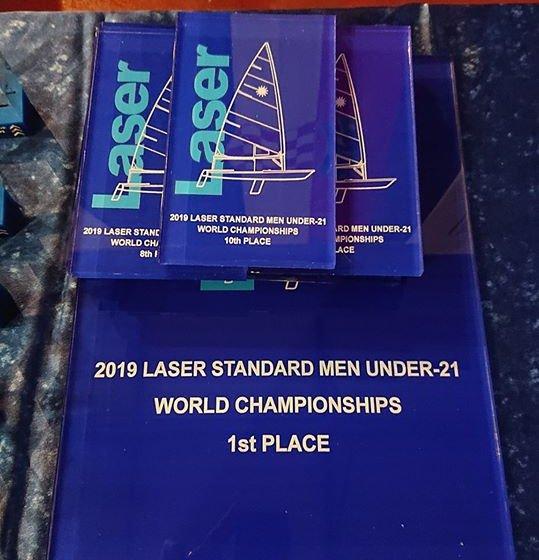 Premios Masculinos del Campeonato Mundial de Laser