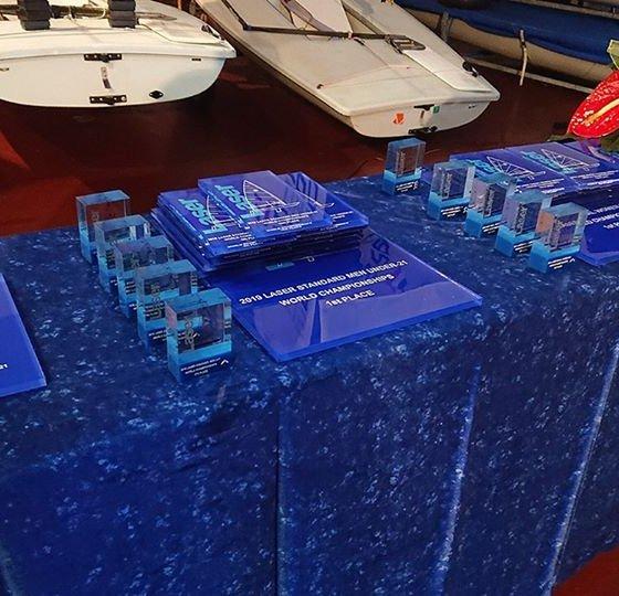 Premios del Campeonato Mundial de Laser