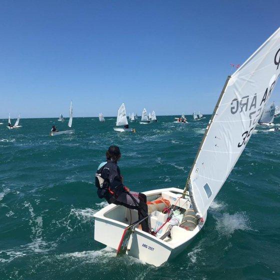 Campeonato Argentino de Optimist - Navegando