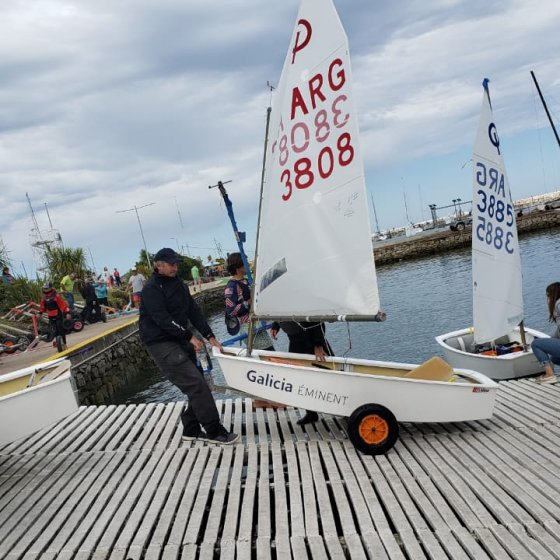 Campeonato Argentino de Optimist - Preparando la regata
