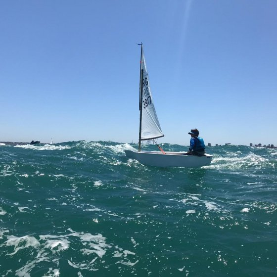 Campeonato Argentino de Optimist - en Mar del Plata
