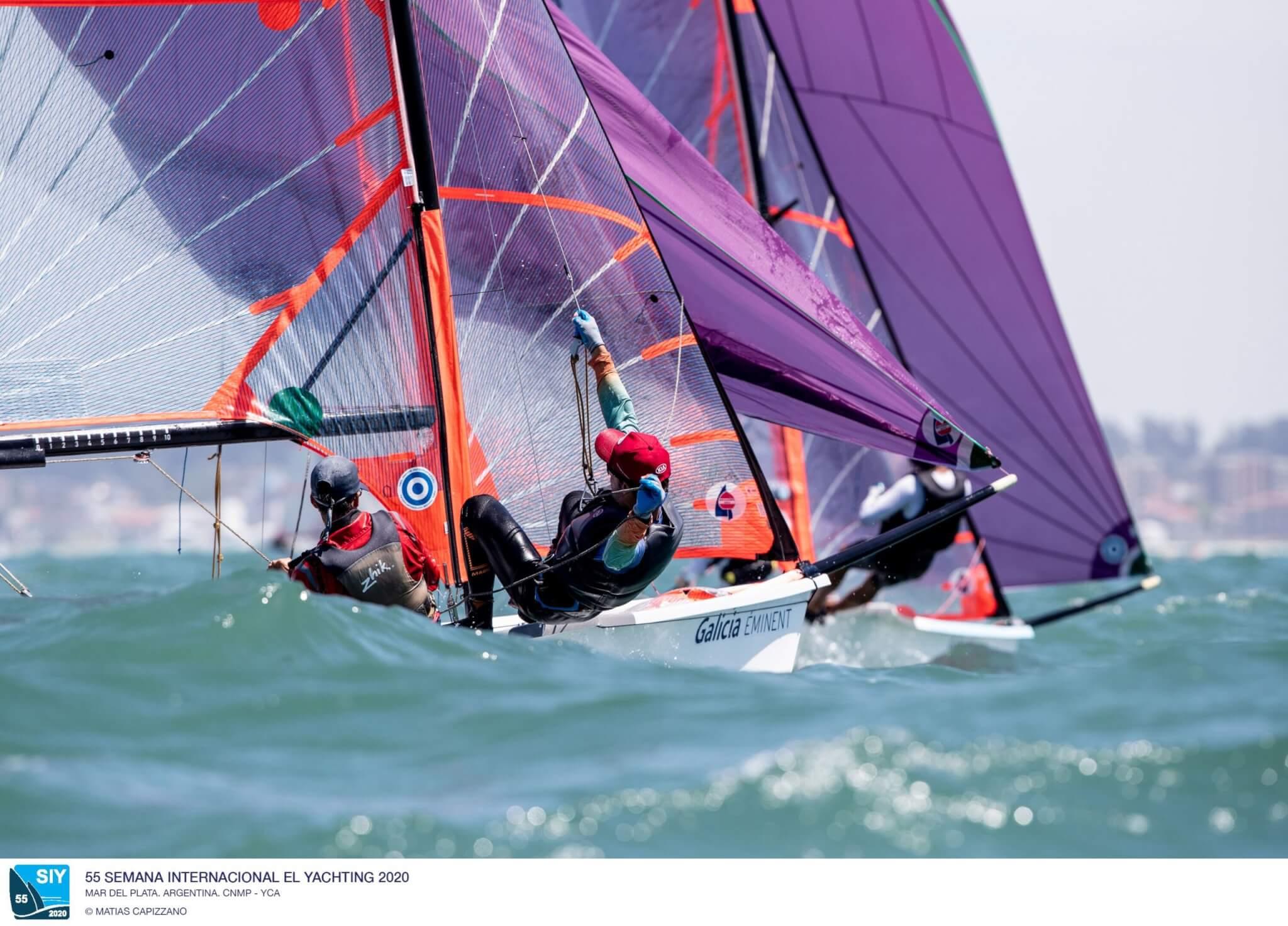 29er en la Semana Internacional de Yachting