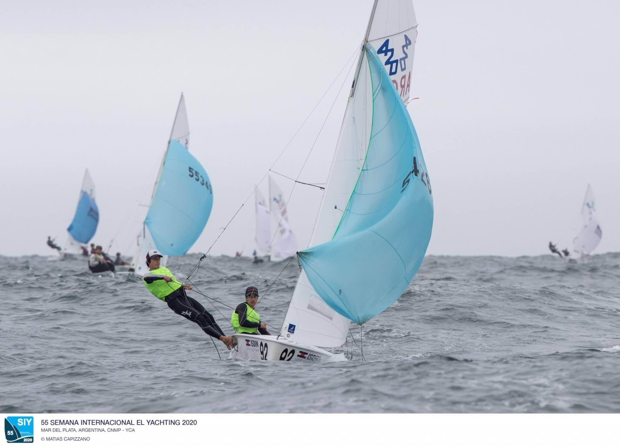 420 en la Semana Internacional de Yachting