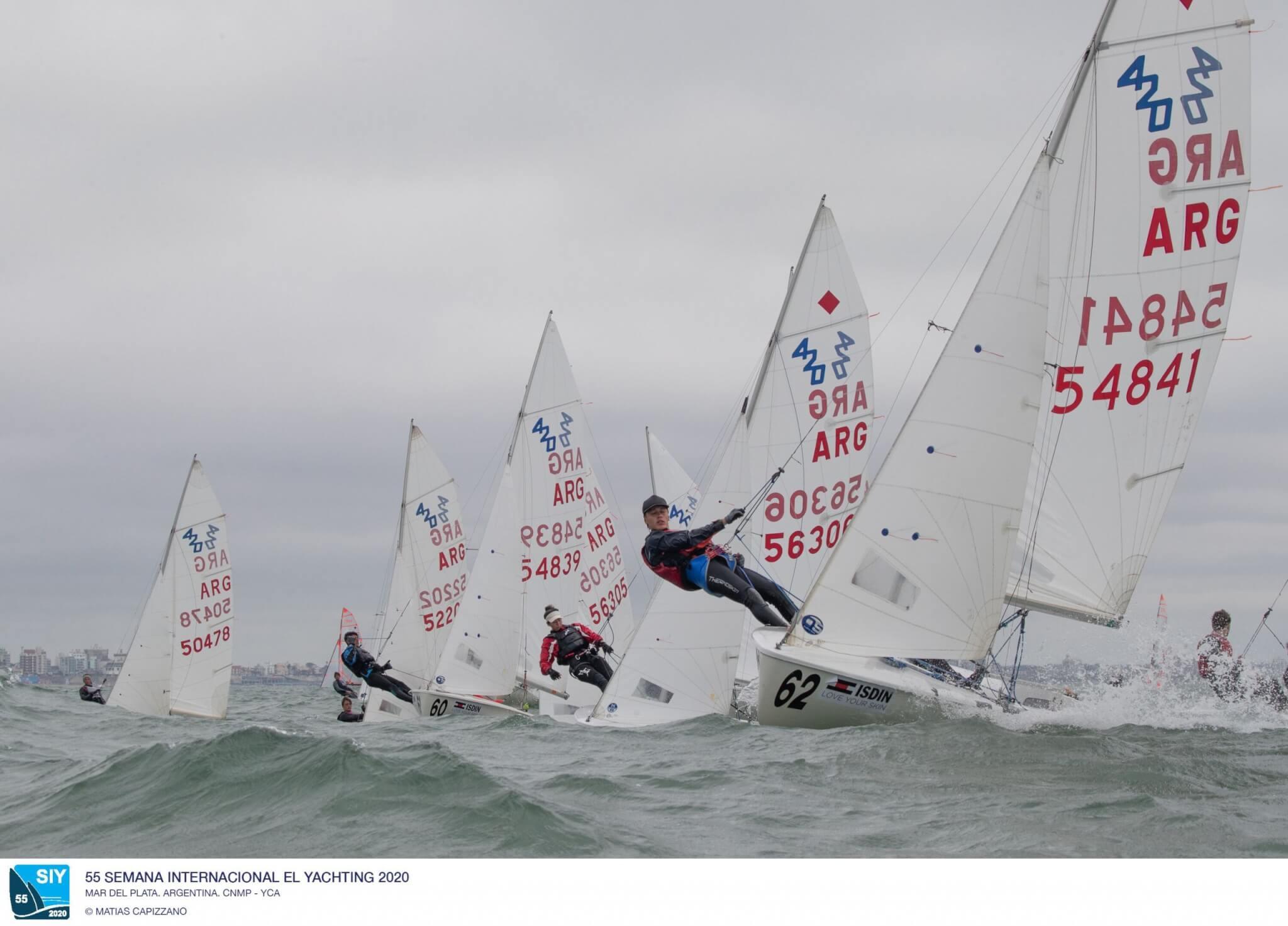 Clase 420 - Semana Internacional de Yachting 2020 - Mar del Plata