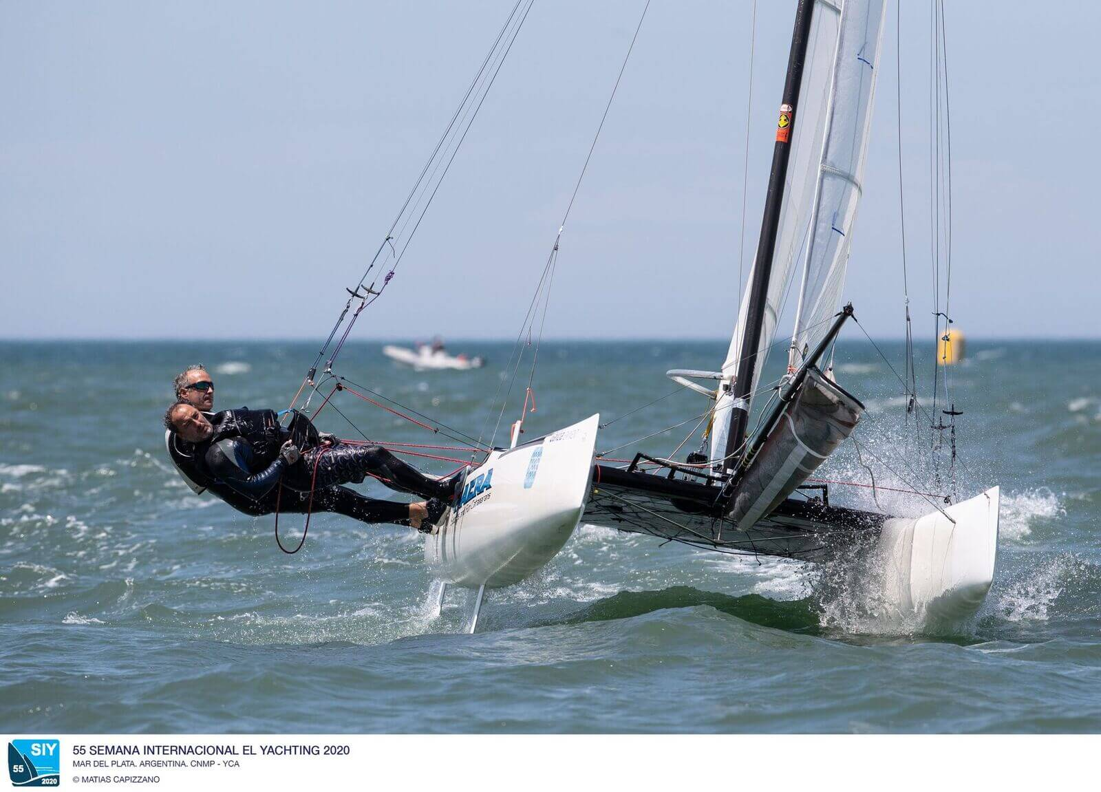 Nacra 17 en la Semana Internacional de Yachting