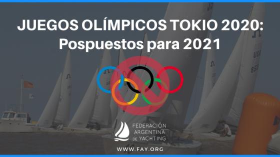 Juegos Olímpicos - Pospuestos para 2021